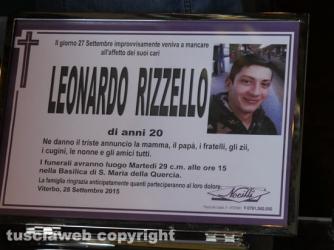 I funerali di Leonardo Rizzello