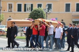 San Lorenzo Nuovo - I funerali di Lisei e Papini