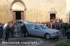Tarquinia  - I funerali di Luca Perugini
