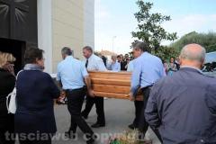 Vetralla - I funerali di Luciano Porta
