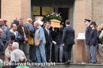 Viterbo - I funerali di Marco Storti