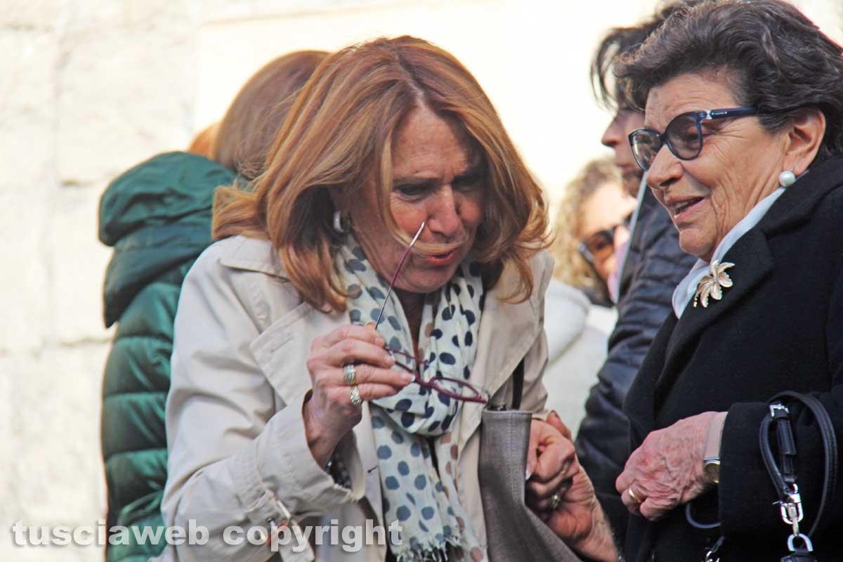 I funerali di Maria Grazia Bugiotti