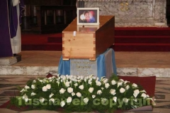 I funerali di Marisa Vitale