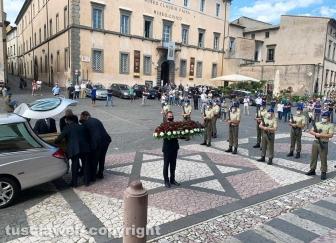 I funerali di Maurizio Pagliaroli