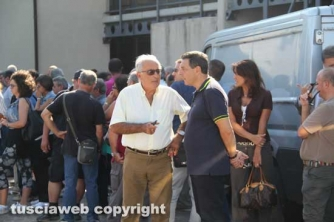 Alvaro Ricci e Marini ai funerali