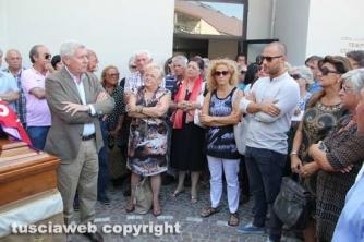 L\'intervento dei sindaco Michelini durante la cerimonia
