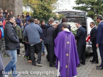 Montefiascone - I funerali di Monica Bellanova