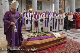 I funerali di monsignor Zarletti