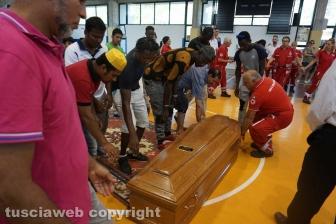 I funerali di Morientes Diomande