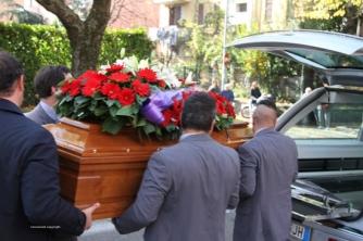 Viterbo - I funerali di Nello Marignoli