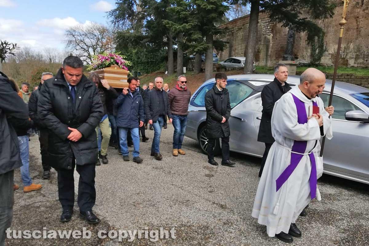 I funerali di Nicola Orazi