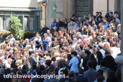 Viterbo - I funerali di Paolo Aquilani