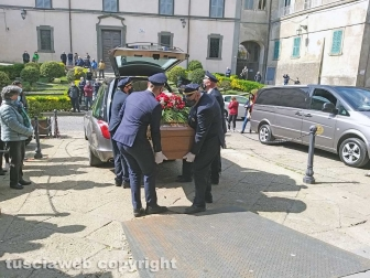 Montefiascone - I funerali di Paolo Brachini