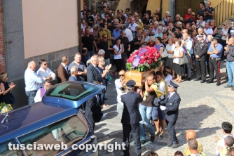 Civitella D\'Agliano - I funerali di Riccardo Celleno