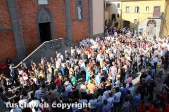 Civitella D'Agliano - I funerali di Riccardo Celleno