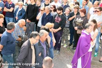 I funerali di Roberto Panichelli