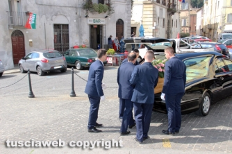 I funerali di Rossana Bramante