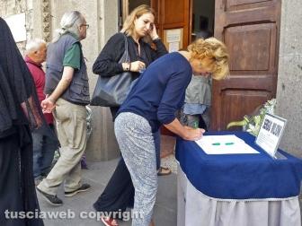 I funerali di Sergio Milioni