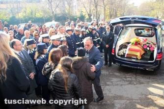 I funerali di Simona Cuccagna