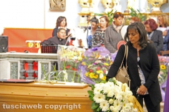I funerali di Simone Ricci