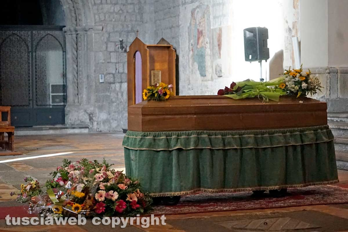I funerali di Teresa Blasi