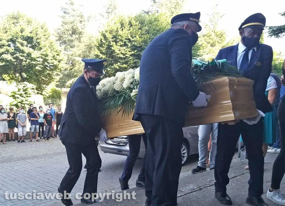 Montefiascone - I funerali di Tiziano Vittori