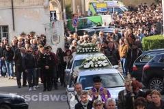 Sorano - I funerali di Valentina e Martin