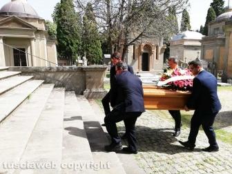 I funerali di Veronica Torretti