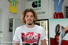 I giocatori della Lazio a Vetralla
