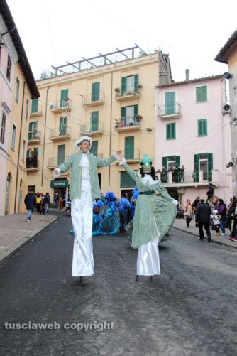 Carnevale di Ronciglione 2016 - I trampolieri