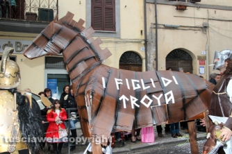 Carnevale di Ronciglione 2016 - I figli di Troya