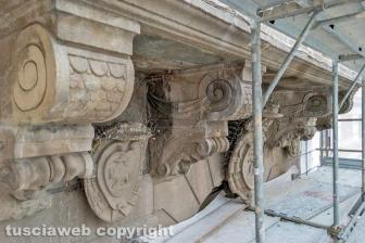 I lavori di restauro