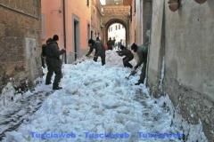 I militari a Castel Sant\'Elia