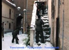 I militari a Castel Sant'Elia