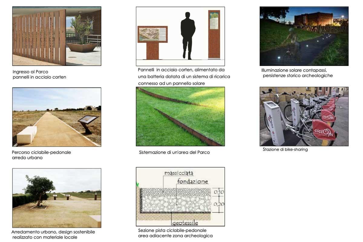 Tarquinia - I progetti per il lido - Alcuni dettagli