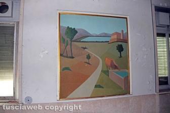 Viterbo - Terme ex Inps - I quadri di Franco Miele