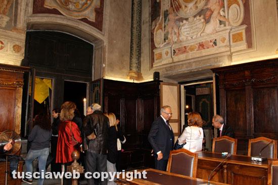 I vip a Palazzo dei Priori