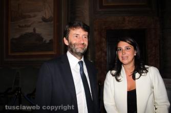 Santa Rosa 2015 - Franceschini e il vicesindaco Luisa Ciambella