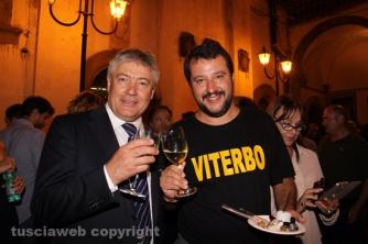 Santa Rosa 2015 - Matteo Salvini e Umberto Fusco