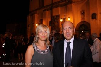 Santa Rosa 2015 - Il capo della squadra mobile Zampaglione e la moglie Alessandra Spanata