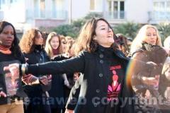 Flashmob contro la violenza sulle donne