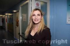 Belcolle - Lorella Cuccarini inaugura il reparto di pediatria