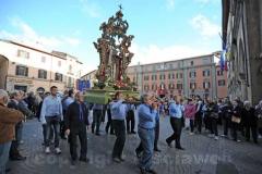 La processione della Madonna liberatrice