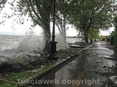 Il lago di Bolsena si mangia la costa