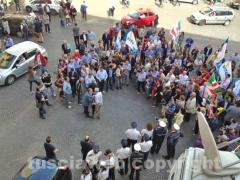 Michelini festeggia a piazza del Comune