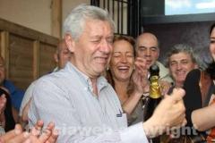 Il trionfo del sindaco Leonardo Michelini