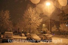 Viterbo sotto la neve