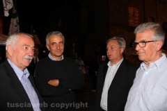 Il ministro Gaetano Quagliarello alla festa dell\'Unità