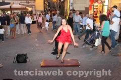 Santa Rosa - Ballerina di tip tap alla fiera