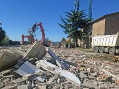 La chiesa di Villanova rasa al suolo per la ricostruzione